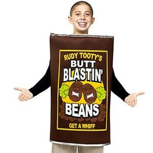 Can Of Beans Costume Rudy Tooty's Butt Blastin'